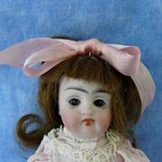 SOLD Pouty Kestner 158 Brown-Eyed All Bisque