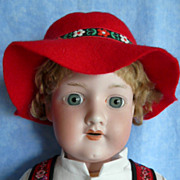 Delightful Armand Marseille Costumed Boy Doll