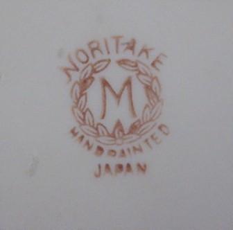 China backstamps noritake Japanese Noritake