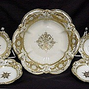 SALE Berry Set Nippon White and Gold Complete Set