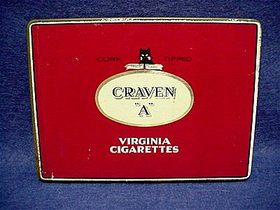 Craven A Virginia Cigarette Pocket Tin