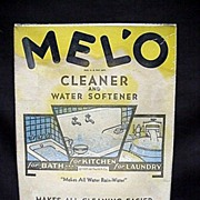 SALE Melo Cleaner and Water Softener with Original Contents