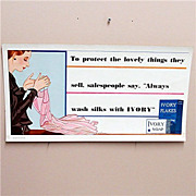 SALE Ivory Soap Advertising Sign