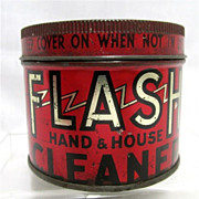 SALE Flash Cleaner for Hands And House Tin  $15