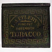 SALE Applebys Advertising Tobacco Tin
