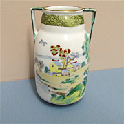SALE Vase Nippon Porcelain Hand Painted  $75