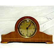 SALE Clock Miniature German Tambour with Alarm 50% OFF