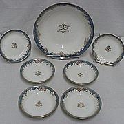 SALE Dessert Set Nippon Porcelain Service for 6