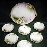 SALE Nippon Porcelain Butter Set