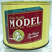 SALE Model Smoking Tobacco Tin