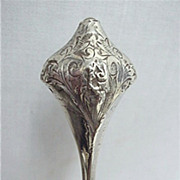 SALE Art Nouveau Hatpin Sterling Hat Pin  $119