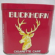 SALE CHEAP TINS Buckhorn Cigarette Tin Mint Unused