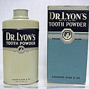 SALE Dr. Lyons 3/4 oz. Sample Tooth Powder Tin 50% OFF
