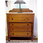 SALE Chest of Drawers Solid Cherry