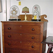 SALE Solid Cherry Chest of Drawers Circa 1835