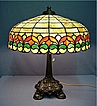 Handel Leaded Antique Table Lamp