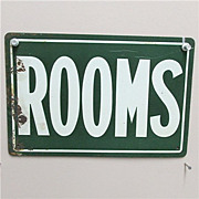 SALE ROOMS Advertising Tin Sign Circa 1920