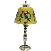 SALE Pairpoint Antique Lamp Reverse Painted Shade