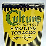 SALE Culture Tobacco Box MINT Unused Condition 50% OFF