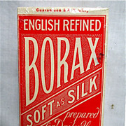 SALE Borax Soft as Silk Soap Box