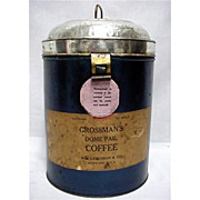 SALE Grosssmans Advertising Coffee Pail Circa 1900