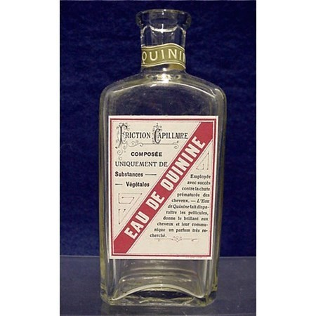 Eau de Quinine Drugstore or Pharmacy Bottle