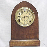 SALE Antique American Beehive Mantel Clock