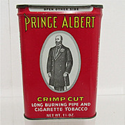 SALE Prince Albert Crimp Cut Tobacco Tin