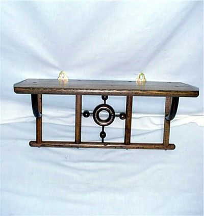 Chestnut Shelf for Clock or Collectible Display from drury on Ruby ...