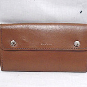 SALE Leather Fly Wallet