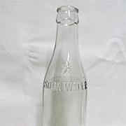SALE Coca Cola Bottle Circa 1900-1915    $25