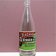 SALE Blackhawk Ginger Ales Bottle  $12