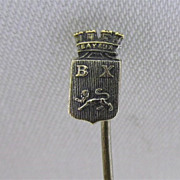 SALE Stickpin Souvenir of Bayeux France  $19