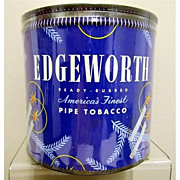 SALE Edgeworth Pipe Tobacco Christmas Tin