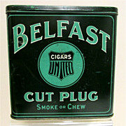 SALE Belfast Cut Plug Tin