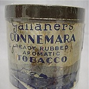 SALE Advertising Tobacco Tin For Gallaher's Connemara Tobacco