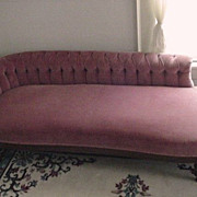 SALE Recamier Tufted Victorian