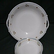 SALE Salad Set Nippon Porcelain Service for Six