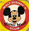 Vintage Book Disney's Mickey Mouse Club