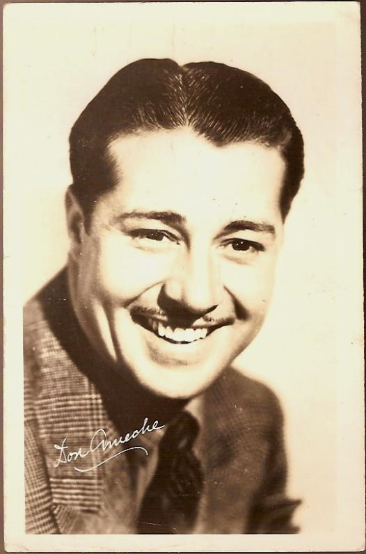 Vintage Post Card Real Photo Don Ameche
