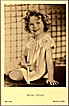 Vintage Post Card Real Photo Shirley Temple with Dimple