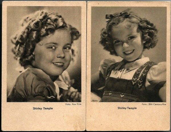 Vintage Post Cards Hollywood Actress Shirley Temple (2)