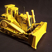 SALE Die Cast Ertl Toy Caterpillar D10N Track -type tractor