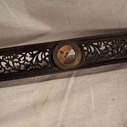 SALE Davis Level & Tool Co. -- Cast Iron Inclinometer-- Filigree Level-Tool