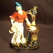 SALE Occupied Japan--Lady at the Well Figurine