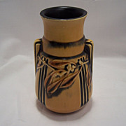 SALE Roseville Pottery Co. --  Laurel Vase 667-6