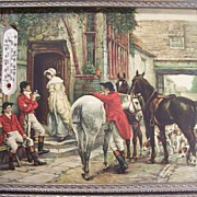 SALE Fox Hunters at English Pub Print