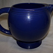 SALE Fiesta-ware Cobalt Ice Lip Pitcher