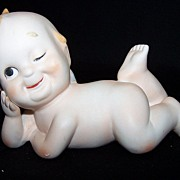 SALE Bisque Lefton Kewpie Doll