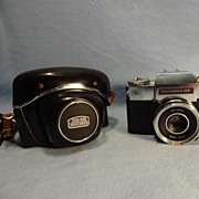 SALE Zeiss Ikon Contaflex 126 SLR Camera and Case
